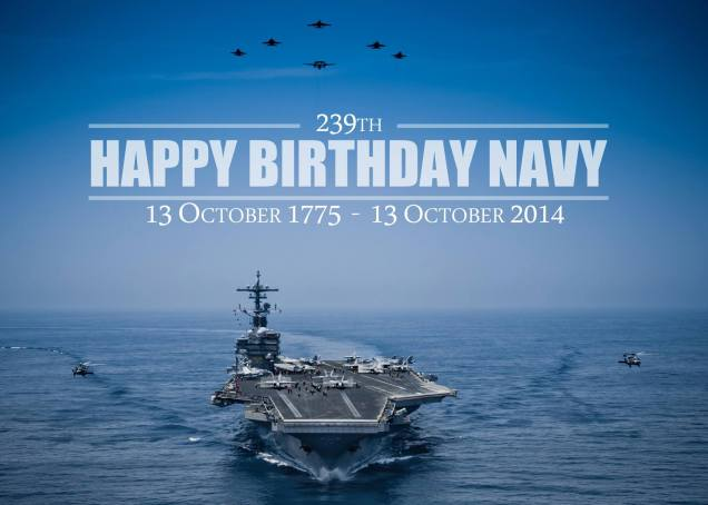 Happy Birthday Navy